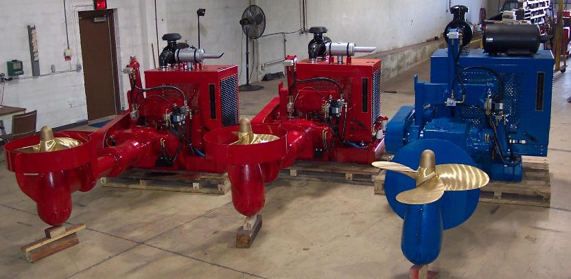 Bow Thrusters Tunnel Stern Thruster Marine Propulsion Outboard Drive Ferryboat Drive Barge Drives Ferry Boat Drive